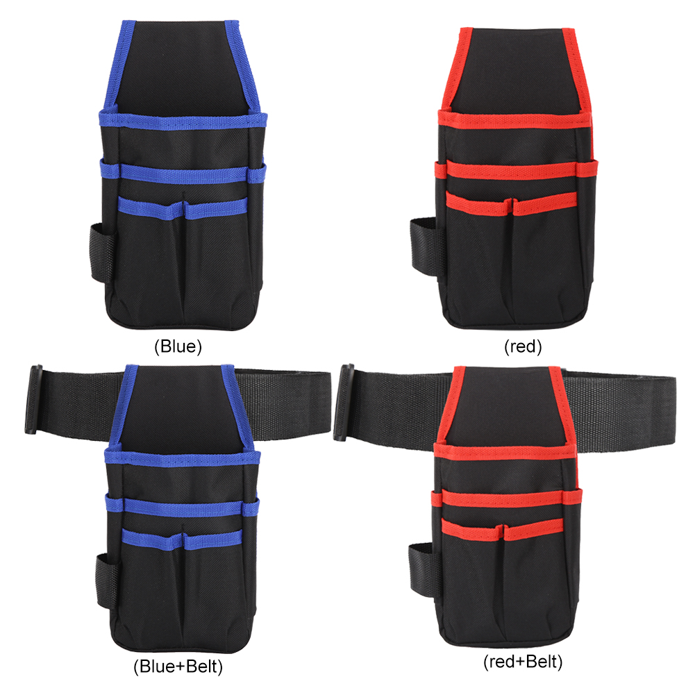 Multi-functional Portable Polyester Tool Bag Waist Pack Toolkit Organizer Hardware Pouch Tools Packaging Supplies