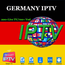 Premium Alemania IPTV m3u Europa estable IP TV suscripción 200 + canales de TV en vivo y 700 + VOD películas para Dispositivo de TV inteligente Android MACS(China)