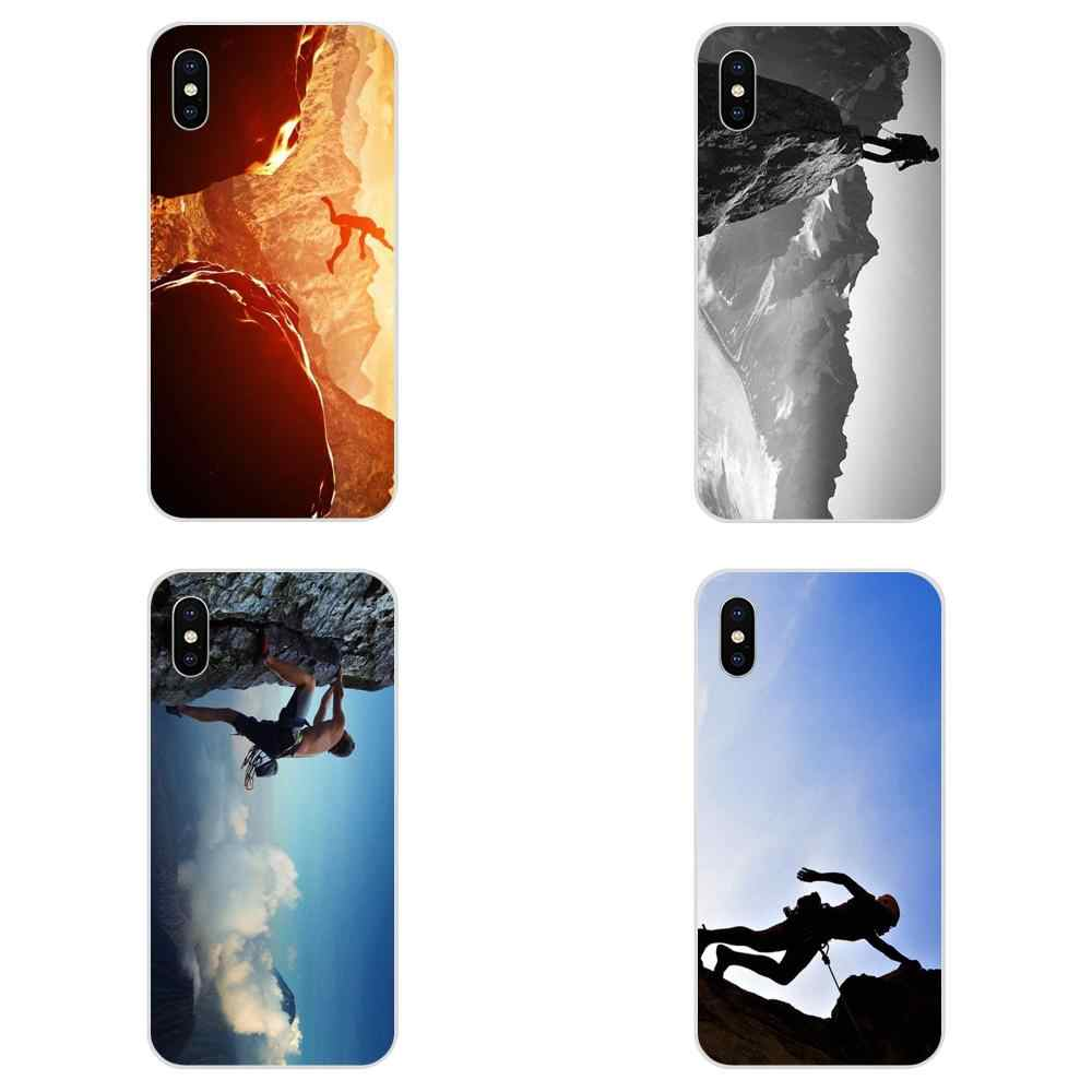 For Galaxy J1 J2 J3 J330 J4 J5 J6 J7 J730 J8 2015 2016 2017 2018 mini Pro Soft TPU Case Mountain Climbing Adventure Sports Print