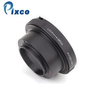 Image 2 - Pixco Ni(G) N1 Built In Iris Control Lens Adapter Suit For Nikon F Mount G Lens to Nikon 1 Camera