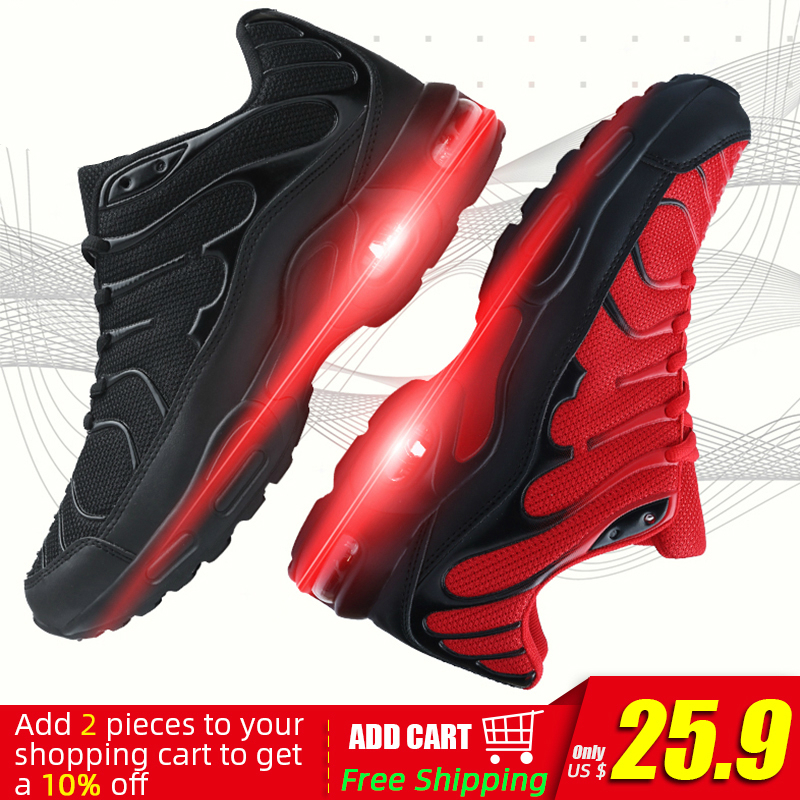 2020 New Men Running Shoes Mesh Breathable Shoes For Man Sneakers Zapatos De Hombre Men's Casual Shoes Plus Size 47 DropShipping