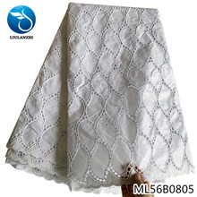 LIULANZHI  White Bazin african riche fabric cotton African embroidery jaquards riche fabric for dress  ML56B08 liulanzhi white bazin african riche fabric cotton african embroidery jaquards riche fabric for dress ml56b08