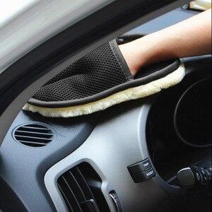 Image 2 - 2020 auto Waschen Handschuhe Reinigung Pinsel Auto Styling für Toyota Camry Highlander RAV4 Crown Reiz Corolla Vios Yaris