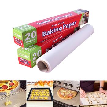 5M 10M 20M nieprzywierająca papier do pieczenia odporna na wysokie temperatury arkusz ciasto Grill papier do pieczenia Grill papier do pieczenia tanie i dobre opinie CN (pochodzenie) KJHPZ