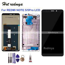 For Xiaomi Redmi Note 5 LCD Display With Frame For Redmi Note5 Pro Touch Screen Digitizer Assembly Replacement 5.99 Inch + Tools цена в Москве и Питере