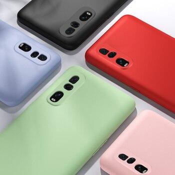 Перейти на Алиэкспресс и купить Защитный чехол для OPPO Realme 6 5i Pro Q X50 Find X2 Lite Neo Liquid, силиконовый чехол для OPPO A72 A52 A92, тонкий мягкий чехол из ТПУ