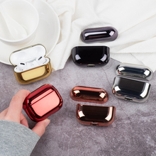 Protective Cover for AirPods Pro Case Sleeve Plating Shockproof Earphones Coque Air Pods 2020 Hard PC Cases
