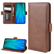 Flip Case For Xiaomi CC9 CC9E Luxury Denim Leather Book Style Cover For Xiaomi Redmi 7 Y3 Note 7 7 Pro Double Buckle Wallet Case(China)