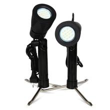 2 Stuks 3.5W 14 Stuks Led Lamp 5500K Fotografie Foto Studio Light Lamp Camera Statief Stand Lamp Spotlight voor Licht Tent