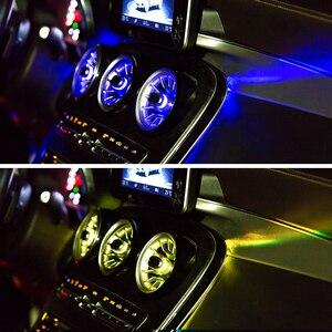 Image 5 - Турбина выход светодиодный свет для W205 GLC Mercedes benz C класса GLC передний Кондиционер Вентиляционный вход центральной консоли атмосферные огни