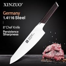 Нож шеф повара из немецкой нержавеющей стали, 8 дюймов