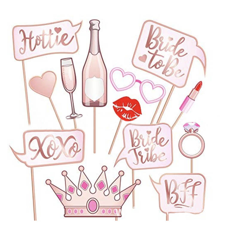 Bride To Be Party Mask Photo Props Wedding Decoration Bachelor Party Hen Party Photo Booth