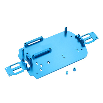 Upgrade Metal Chassis Parts For WLtoys A959 A979 A959B A979B 1/18 RC Car 4WD Aluminum spare parts jmt diy rc aluminum intelligent robot car tank chassis wall e caterpillar tractor crawler spare parts