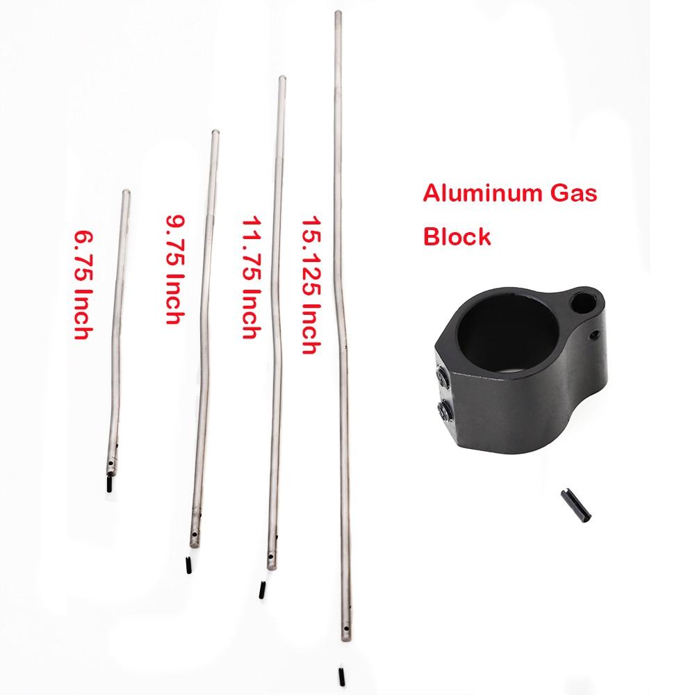 Тактическая микро-Винтовочная газовая трубка низкого профиля. 750 5,56 223 со стальным рулонным штифтом 0,75 дюйма Dia M4 AR15 рулонный штифт для охоты