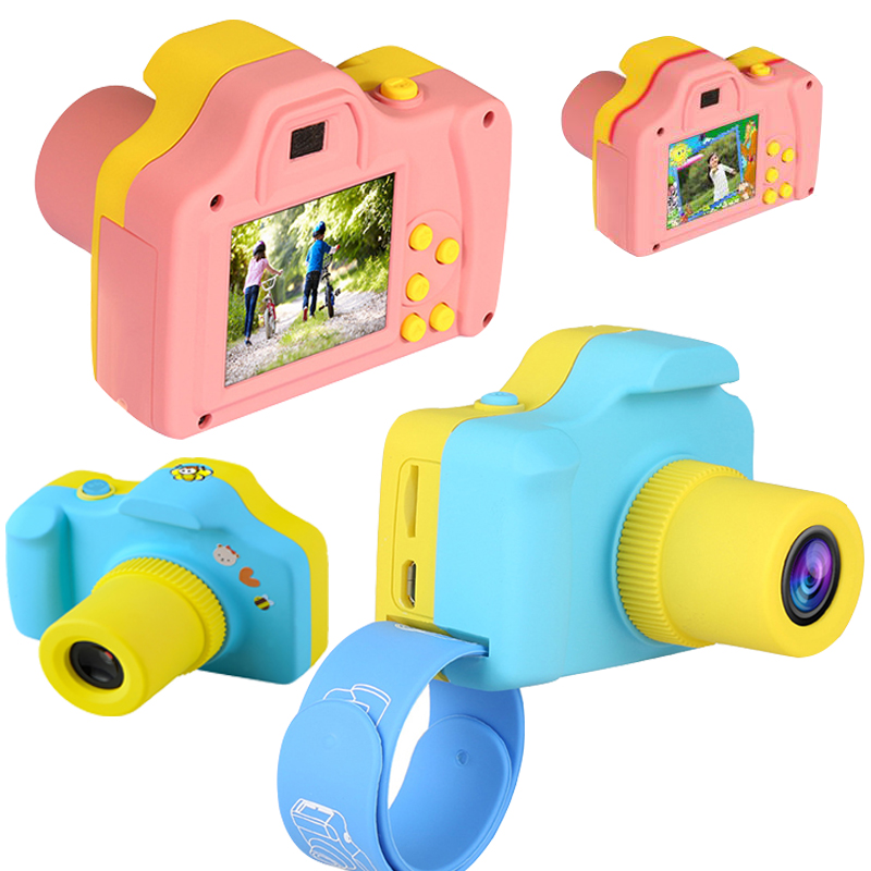 Children's Digital Camera Toy 16 Million Pixel Kids Cartoon Cute Camera Outdoor Photography Children Birthday Presents