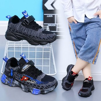 Hot new Spring Autumn Children Shoes Fashion Brand Sports Boys Shoes Casual Kids Sneaker Outdoor Training Breathable Boy Shoes 2020 spring autumn children shoes boys sports shoes fashion brand casual kids sneaker outdoor training breathable boy shoes 4829