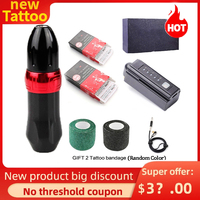 5 color Printable Rotary Logo Tattoo Rotary Machine Pen Tattoo For Shader Liner Permanent Makeup Tattoo Gun Needle Body Makeup 1