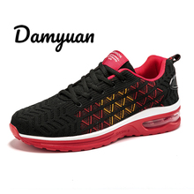 Damyuan New Fashion Air Cushion Lovers Shoes Sneakers Men Casual Women Autumn Non-leather Lightweight Shock Absorption