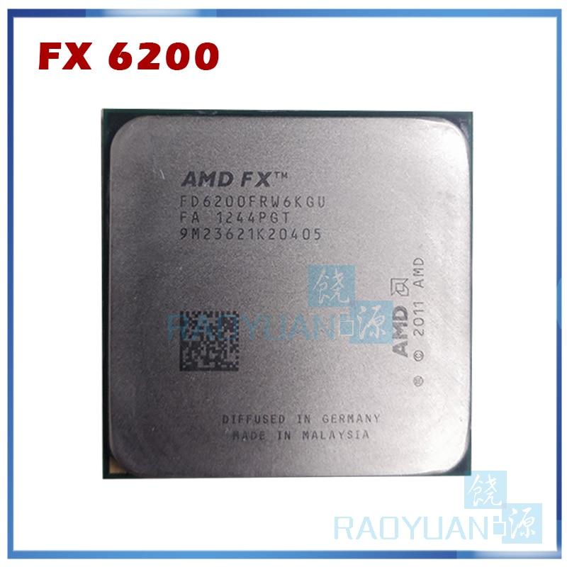 CPU Processor AMD FX-6200 3.8GHz 6-Core 8M Socket AM3