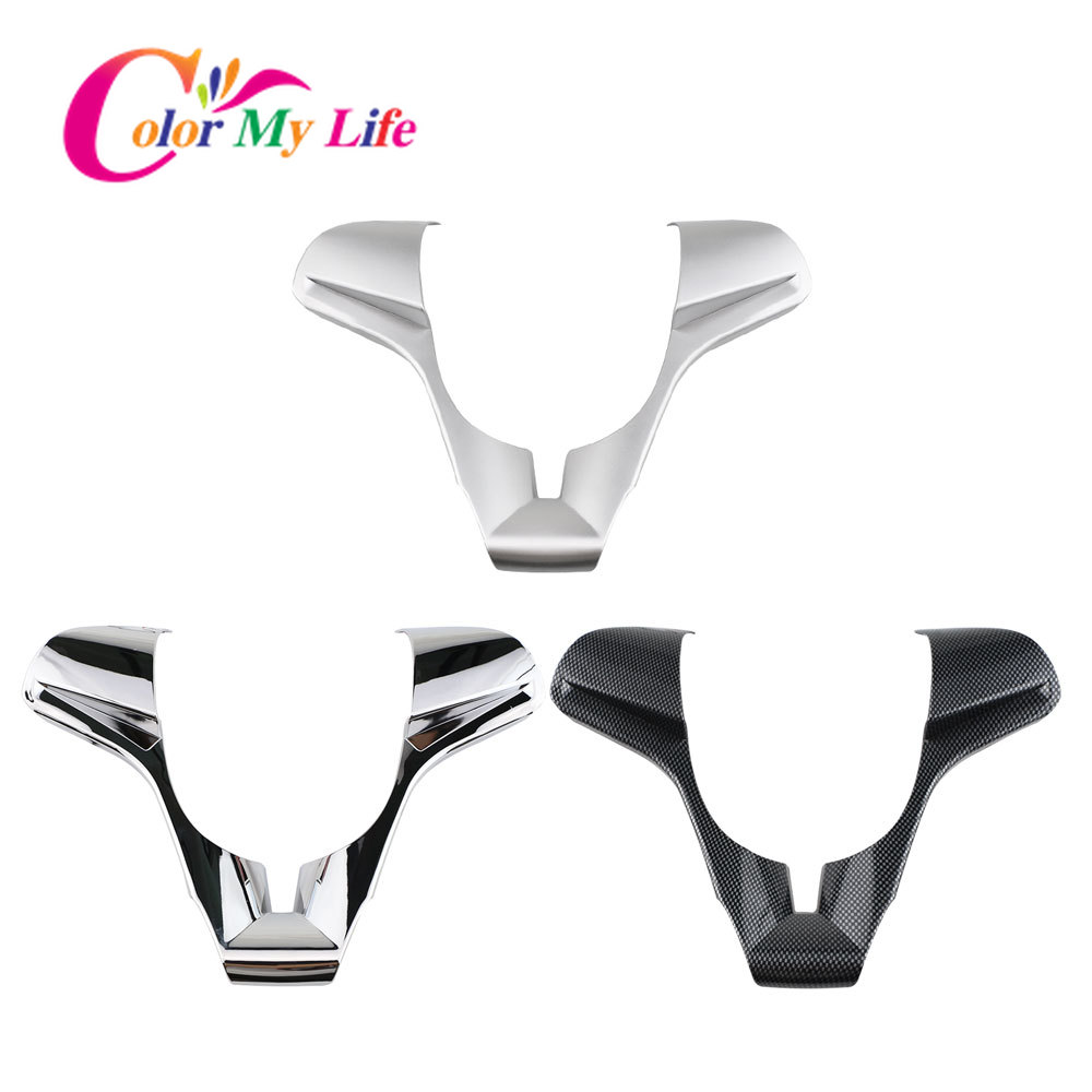 Color My Life Interior Car Steering Wheel Decoration Cover Trim for <font><b>Chevrolet</b></font> <font><b>Cruze</b></font> Sedan Hatchback <font><b>2009</b></font> - <font><b>2014</b></font> Accessories image