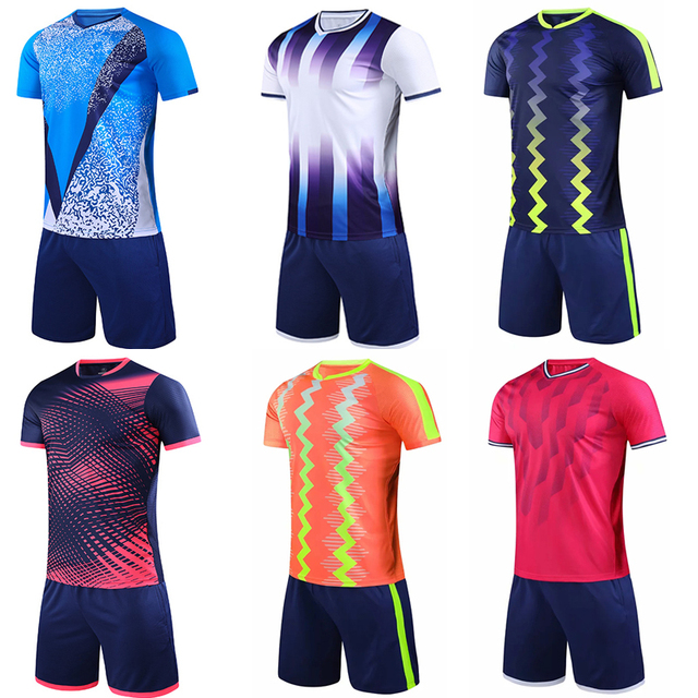 Survetement Football Kit 2020 football maillots enfants Football uniformes chemise ensembles hommes Futbol Football formation costume football Kits Un