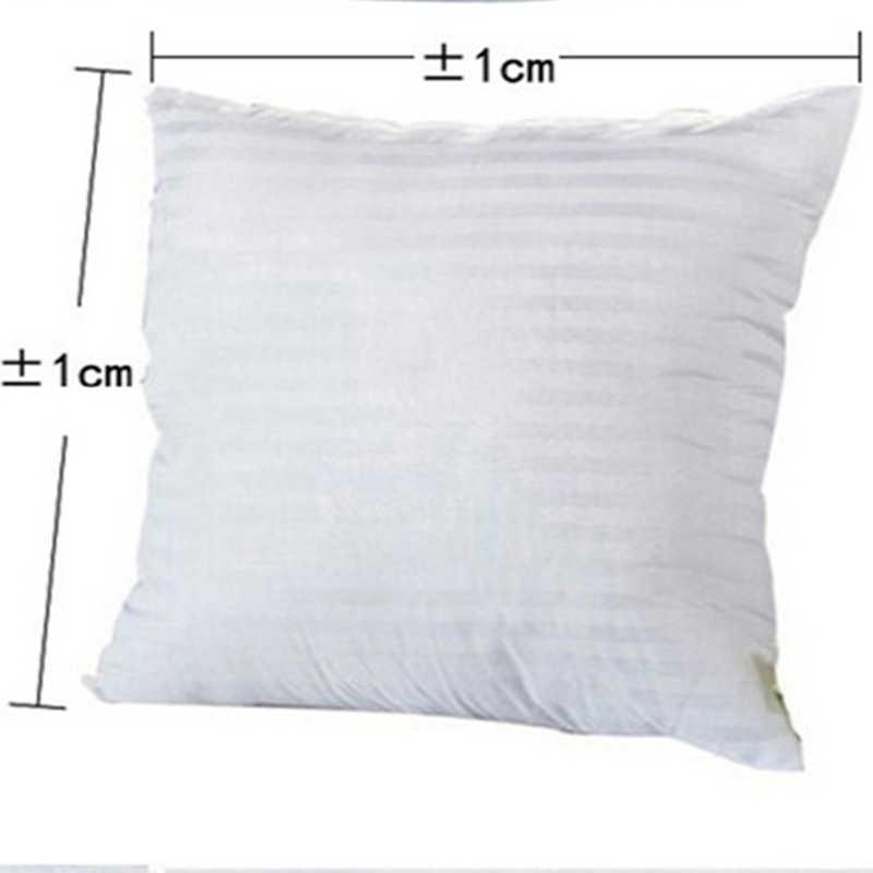 Coussin blanc en PP coton | 13 pièces, garniture de coussin, décor de noyau intérieur, coussin de siège doux pour chaise de voiture