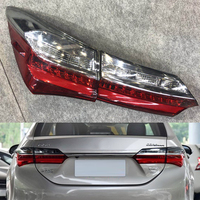 Tail Lamp For Toyota Corolla 2017 2018 Car Light Assembly Auto Rear Tail Light Turning Signal Brake Lamp Warning Bumper Light