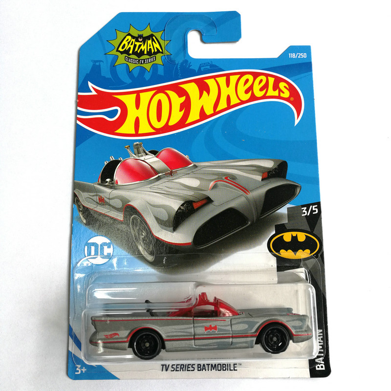 Hot Wheels 1:64 Car 2019 NO.84-128  BATMOBILE JEEP FORD CHEVY VOLKSWAGEN Metal Diecast Model Car Kids Toys Gift