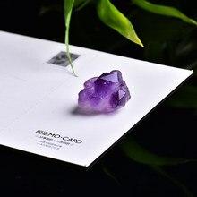 1 adet doğal ametist doğal cevheri kristal kristal cevheri cevheri onarım şifa kristal kullanılabilir ev dekorasyon DIY için hediye