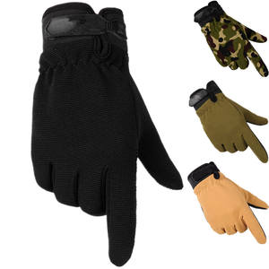 Tactical Gloves Men Women Antiskid Army Military Bicycle Airsoft Motocycle Shooting Riding Cycling Work Gear Camo Men's Gloves