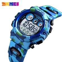 Skmei спортивные детские часы молодых энергичных дизайн циферблата
