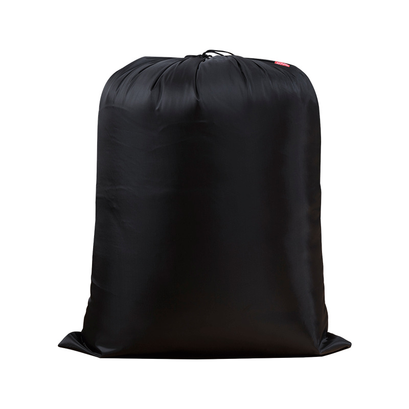 Solid Drawstring Clothing Storage Bag Travel Organizer Laundry Packing Bag Clothing Shoes Organization 1 Piece Quilt Storage Bag