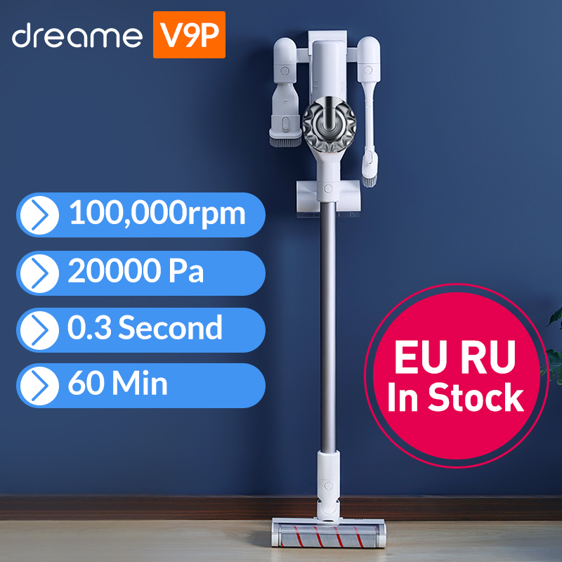 2019 Dreame V9P Handheld Cordless Vacuum Cleaner Portable Wireless Cyclone Filter Carpet Dust Collector Carpet Sweep