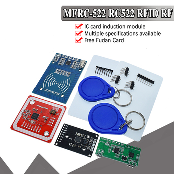 RFID module RC522 MFRC-522 RDM6300 Kits S50 13.56 Mhz 125Khz 6cm With Tags SPI Write & Read for arduino uno 2560