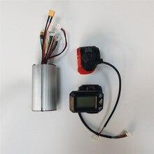 Профессиональный алюминиевый бесщеточный контроллер двигателя, 24 В, 36 В, ЖК-дисплей, контроллер дроссельной заслонки тормоза и акселератор...