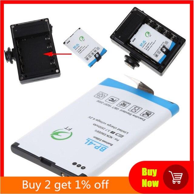2500mah BP 4L запасная литий ионная батарея для 96/112 светодиодный ной камеры видео свет