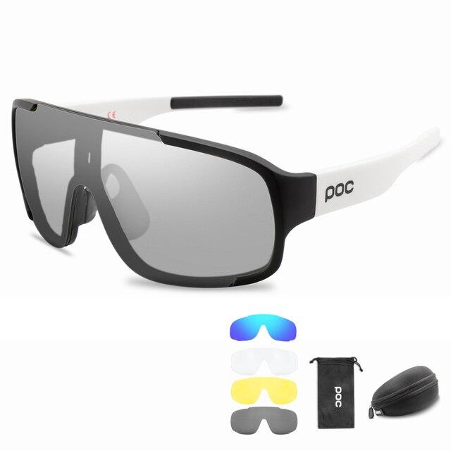 Poc photochromic polarizado ciclismo óculos de sol ao ar livre da bicicleta do esporte das mulheres dos homens mountain bike mtb ciclo eyewear 3