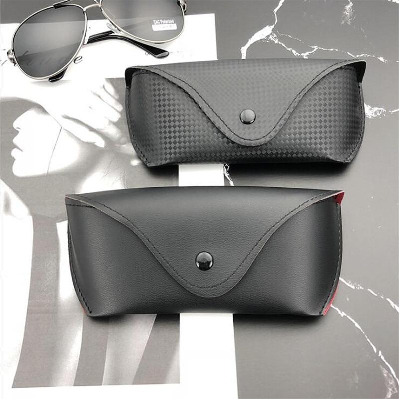 Glasses Box For Eyeglass  Sunglasses Fashion Women And Men Portable Glasses Case PU