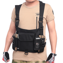 Multifunction Tactical Vest Outdoor Clothing Hunting Vest Cs Special Police Belt Used For Hiking Camping Shooting Fishing multifunctional clothing stab stab tactical vest cs field outdoor photography vest fishing