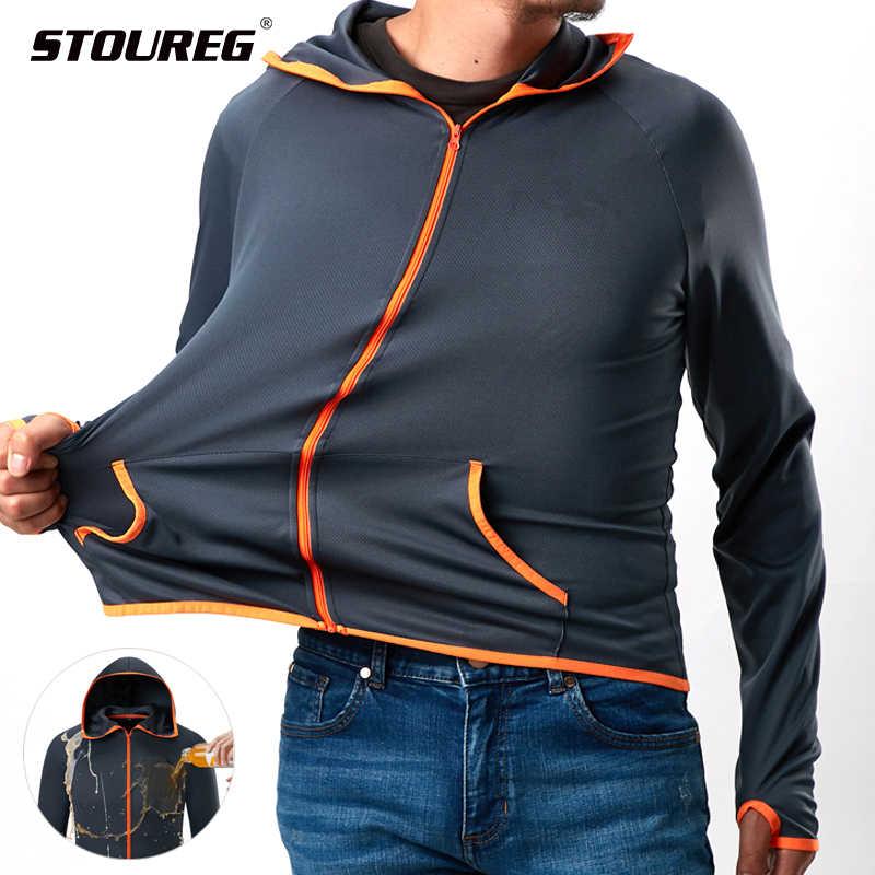Repelente de água jaquetas para caminhadas masculinas jaquetas ao ar livre windbreakers anti-fouing caminhadas roupas masculino pesca caça jaquetas
