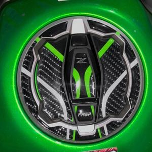 5D Carbon Fiber Kawasaki z900 z650 Sticker Motorcycle Tank Pad Cap Cover Rubber Decal Accessories Ninja 400 650 Z400 2019 2020
