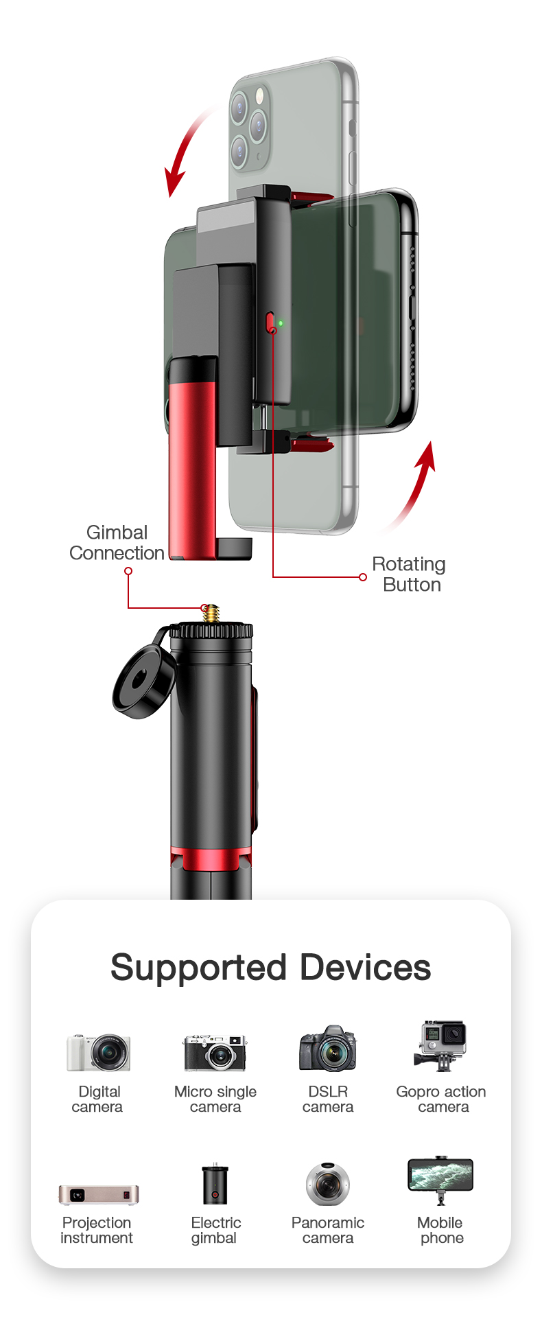 gimbal stabilizer and (20)