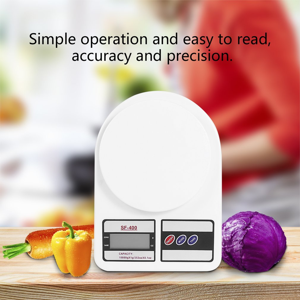 Высокоточные домашние кухонные весы 5/7/10 кг x 1 г, ЖК-дисплей, цифровые электронные весы, бытовые весы, новейшие весы-3