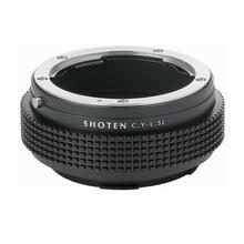 SHOTEN adattatore per CONTAX YASHICA lens toLeica T TL TL2 CL SL SL2 Panasonic S1 S1R S1H Sigma fp L lenti CY LSL