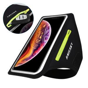 Running Sport Armbands Bag For Samsung S20 Ultra Zipper Pocket Car Key Belt Cycling Arm Band For iPhone 11 Pro Max XR Xiaomi 9 8