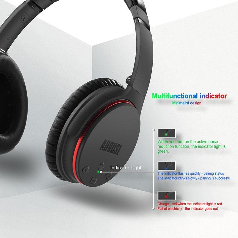 EP735 Aktive Noise Cancelling Bluetooth Kopfhörer Drahtlose mit Mic Bluetooth 4,1 Stereo ANC Headset für Luft Reise aptX - 6