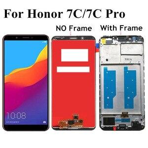 Image 1 - 5.99 Dành Cho Huawei Honor 7C Pro LND L29 LND AL30 LND AL40 Màn Hình Hiển Thị LCD Bộ Số Hóa Cảm Ứng Có Khung Cho Danh Dự 7C