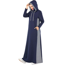Hijab Dress Robe Djellaba Abayas Kaftan Islamic Clothing Turkish Muslim Prayer Femme