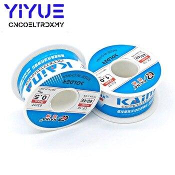 цена на 0.5/0.6/0.8/1/1.2/2.3mm 100g 60/40 Rosin Core Tin Lead Solder Wire Soldering Welding Flux 2.0% Iron Wire Reel