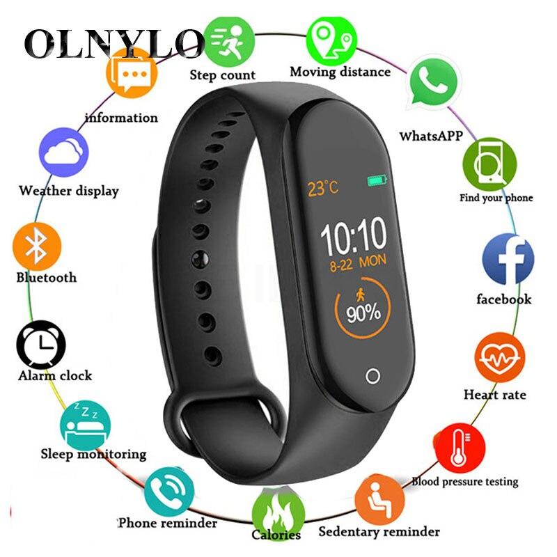 Newly M4 Smart Band Wristband Blood Pressure/Heart Rate Monitor/Pedometer Sports Bracelet Health Fitness Bracelet Smartwatch